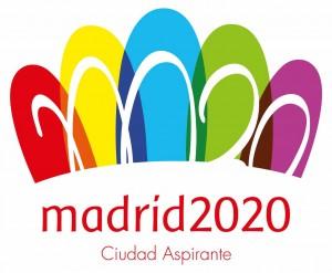 Madrid 2020 logo miasta apirującego