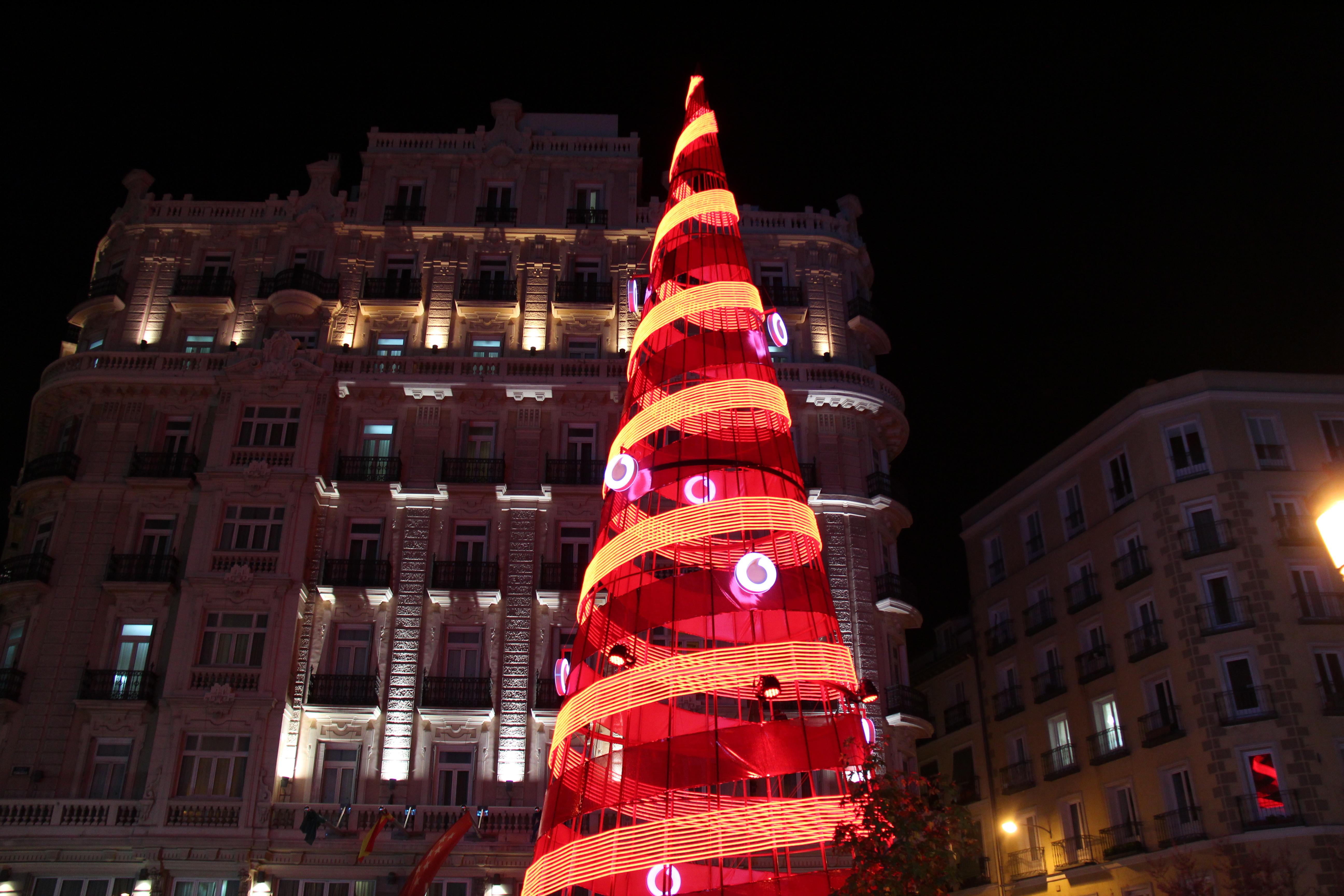 Madryt świąteczny