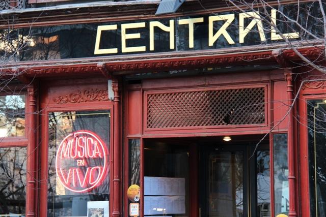 Café Central w Madrycie