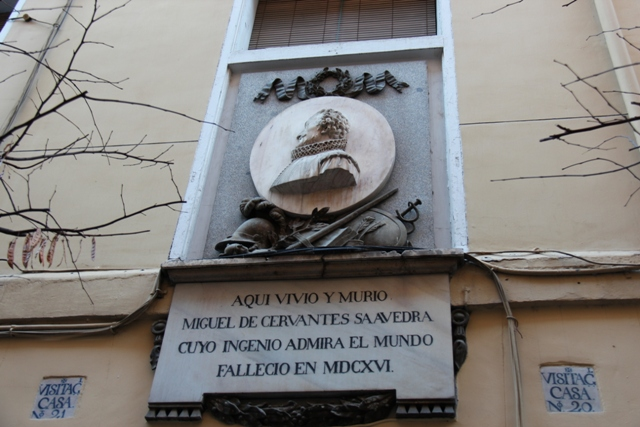 Dom Cervantesa w Madrycie