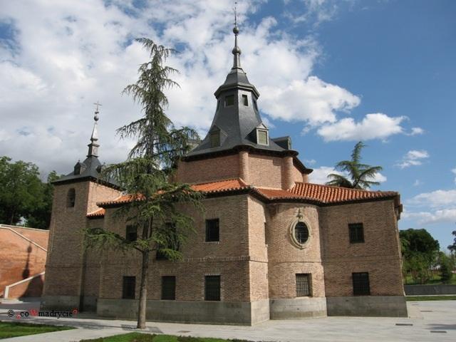 Kaplica la Virgen del Puerto w Madrycie