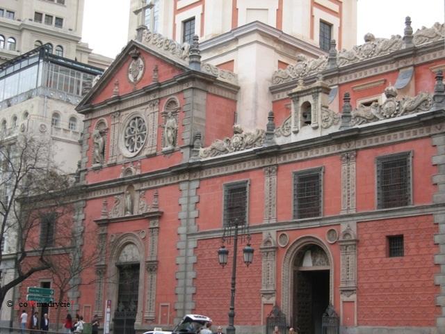 Kościół las Calatravas w Madrycie