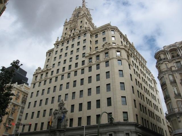 Madryt Budynek Telefónica