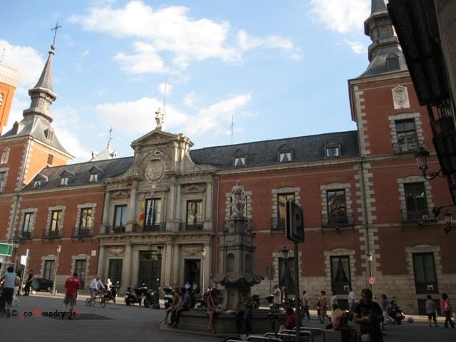 Pałac Santa Cruz w Madrycie
