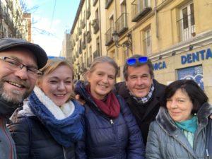 Przewodnicy w Madrycie