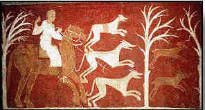 Polowanie na jelenie, Muzeum Prado