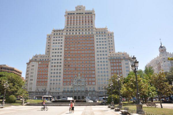 Edificio de Espana na plaza de espana