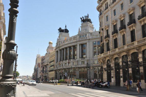 Edificio del Banco de Bilbao calle Alcala