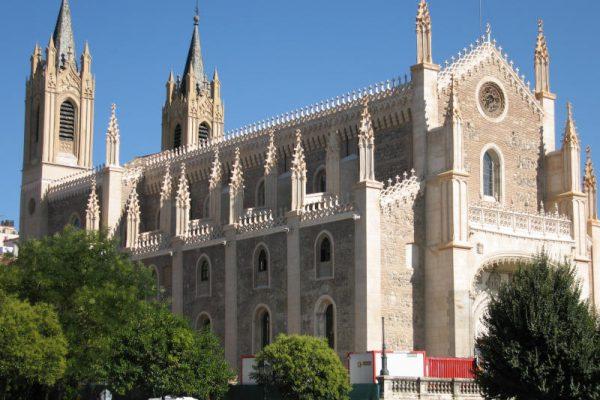 Iglesia de san Jerónimo el Real de Madrid