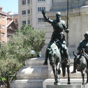 don quijote plaza de espana