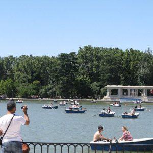 estanque park retiro
