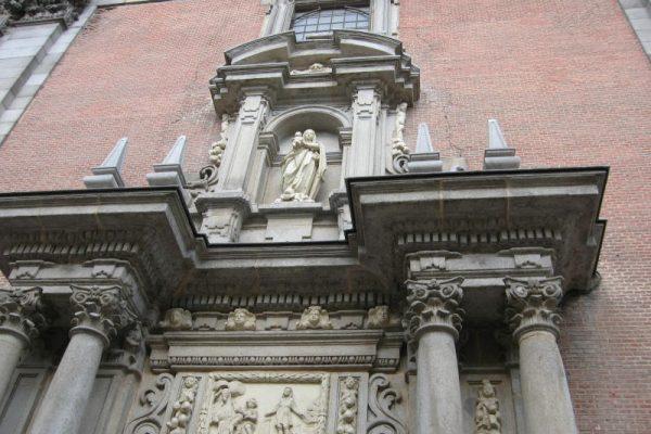 iglesia de San Andrés detal