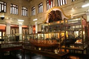 Wnętrze Museo Naval