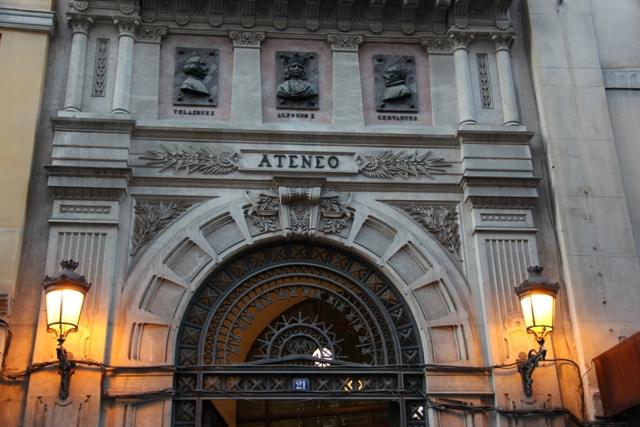 Ateneo de Madrid w Madrycie