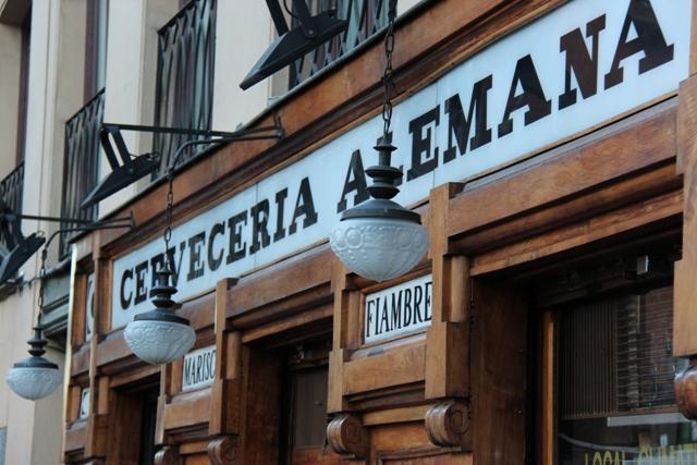 Cerveceria Alemana w Madrycie