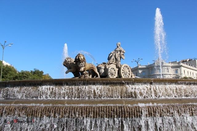 Fontanna Cibeles w Madrycie