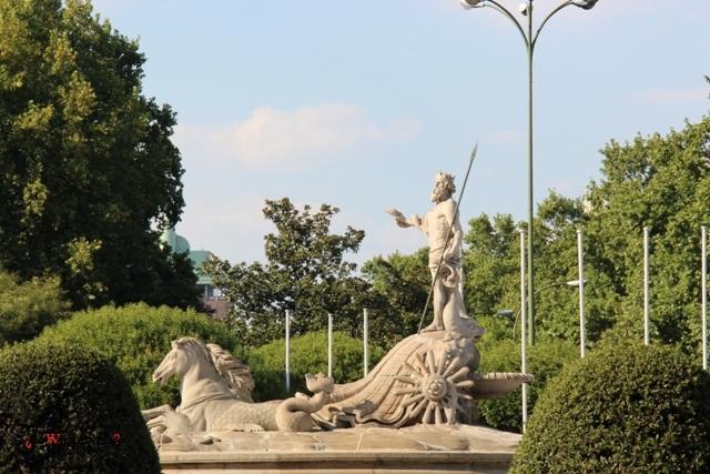 Fontanna Neptuna w Madrycie