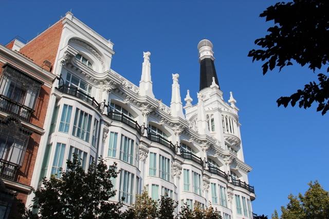 Hotel Reina Victoria w Madrycie