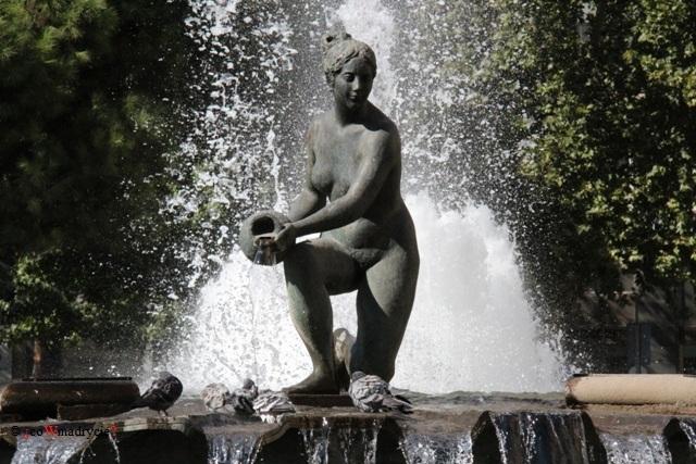 Fontanna Źródła Wody w Madrycie