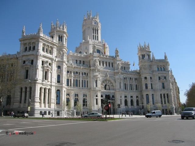Palacio Cibeles w Madrycie