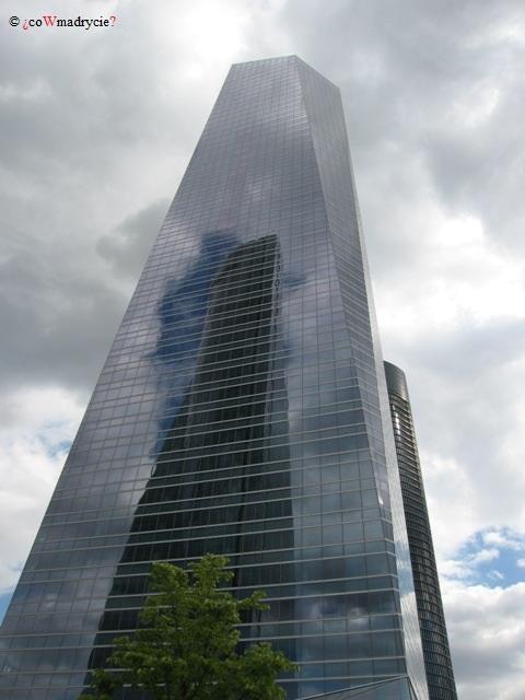 Torre de Cristal w Madrycie